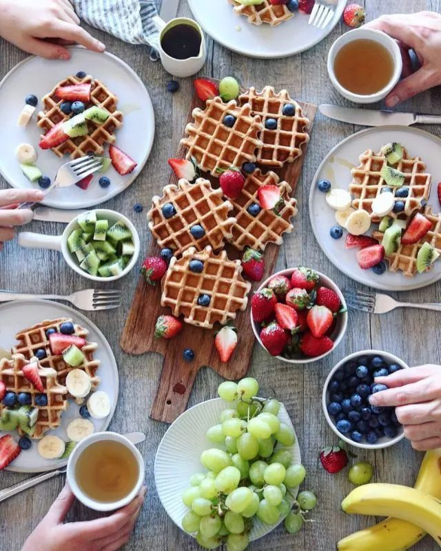 甜品与水果的完美搭配,这也太美了!