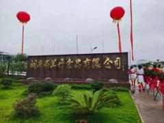 湖南省美丹食品有限公司正式投产